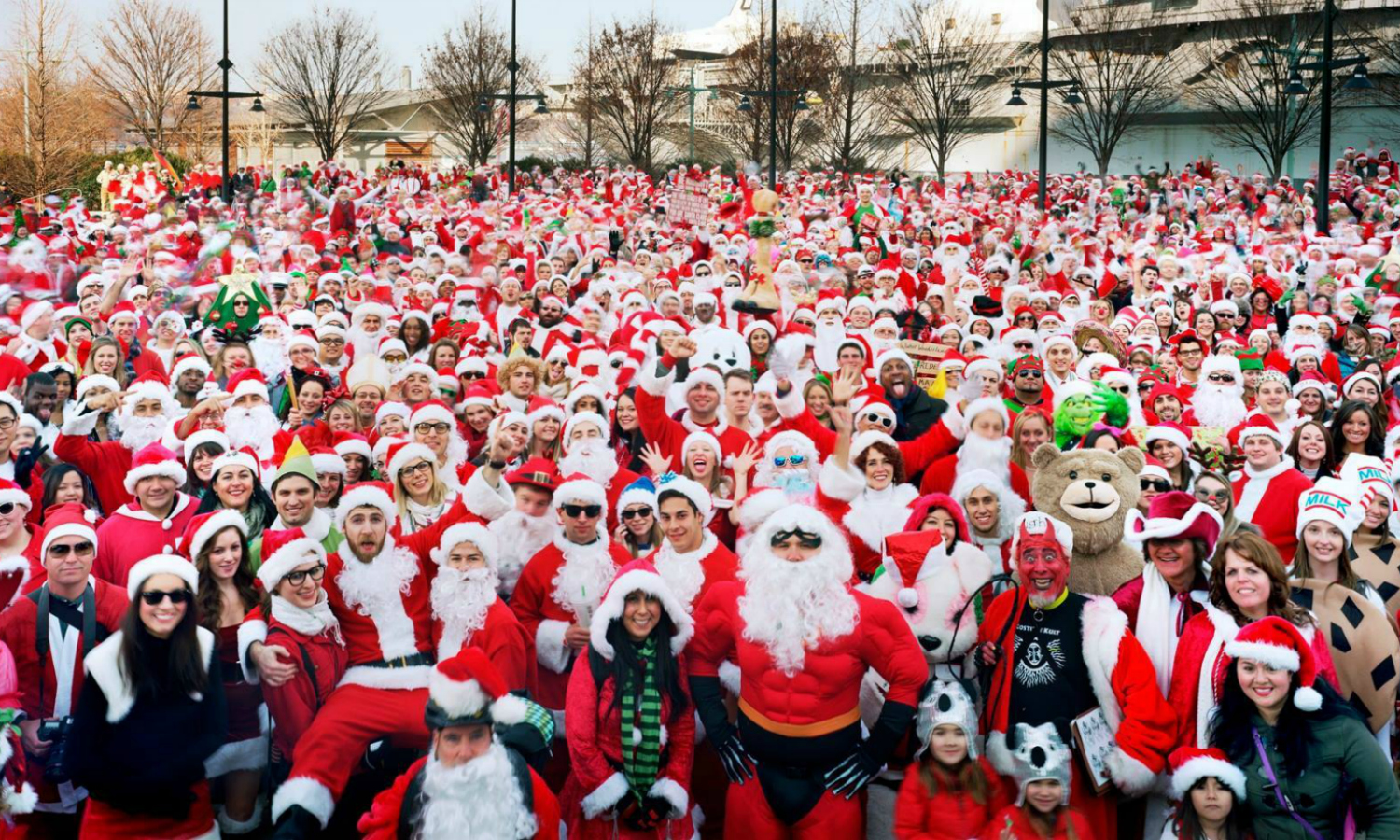 Nova York no Natal: SantaCon