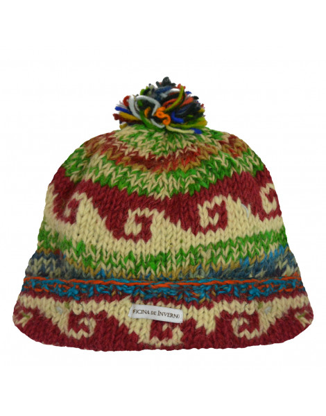 Gorro Kids Lã + Fleece Dog - Oficina de Inverno