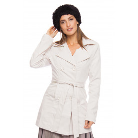 Trench Coat Gabardine Windsor Bege