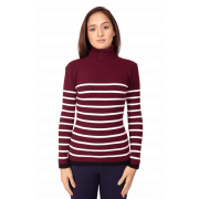 Kit Blusas Beeville Bege + Bordeaux