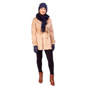 Trench Coat Suede Caramelo